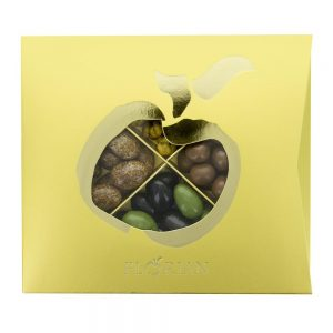 Coffret cadeau 4 compartiments Chocolats