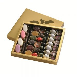 Coffret Gourmand sucré Florian-dégustation Chocolats et Confiseries