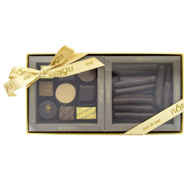 Coffret Gourmand sucré Duo Tradition Chocolat