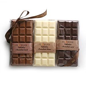Lot 6 tablettes de chocolat Florian